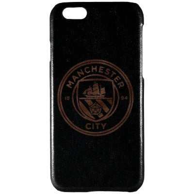 Manchester City Genuine Leather Phone Case