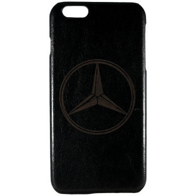 Mercedes Medallion Genuine Leather Phone Case