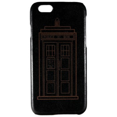 Doctor Who Genuine Leather Phone Case