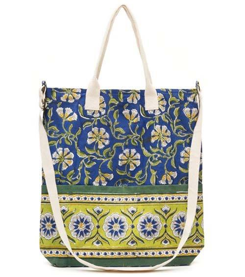 Blue Moroccan Tote & Coin Purse - Marta Boomie - high5humans