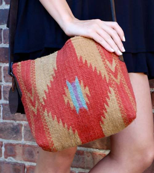 Earth and Sun Crossbody Bag - Manos Zapotecas - high5humans