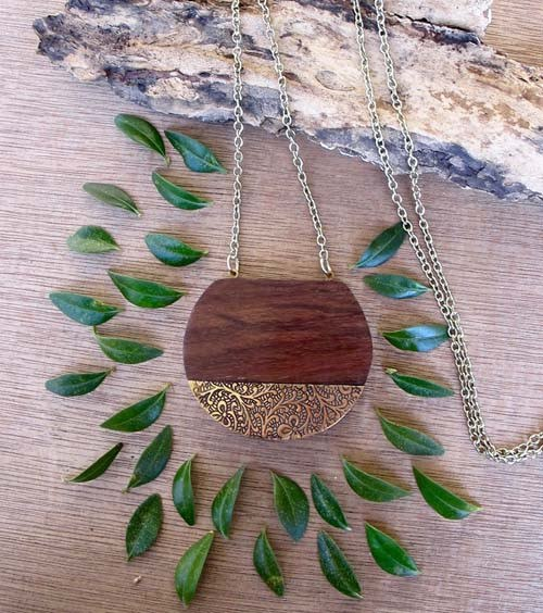 Earth & Fire Necklace - Marta Boomie - high5humans