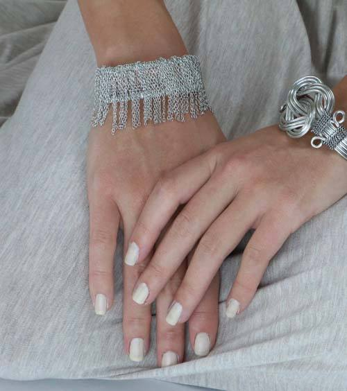 Fringed Chain Cuff - World Finds - high5humans