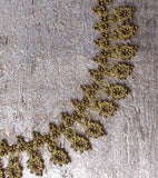 Gold Stands Silk Crochet Necklace - Silk and Wool Crochet - high5humans