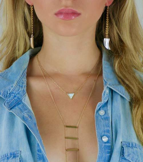Harmony Ladder Necklace
