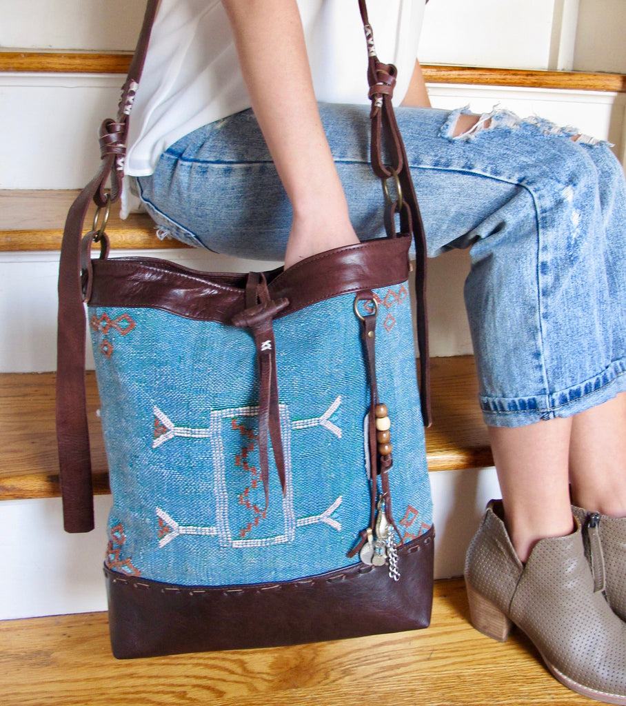 Moroccan Shoulder Tote Bag