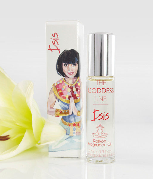 ISIS FRAGRANCE – Egyptian Goddess of Rebirth, Fertility and Magic - The Goddess Line - Roll-on Essential Oils