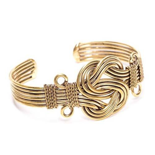 Knot of Hope Gold Bracelet
