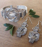 Knot of Hope Silver Bracelet - Marta Boomie - high5humans