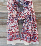 Nautical Vines Scarf - Passion Lilie - high5humans