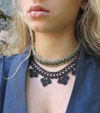 Ombre Textile Necklace and Bracelet - World Finds - high5humans