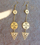 On Point Earrings - Mata Traders - high5humans