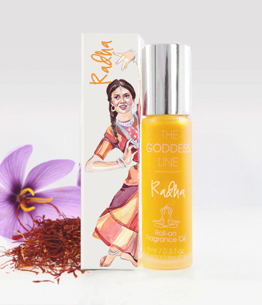 RADHA FRAGRANCE– Spirituality & Divine- The Goddess Line Roll-on Essential Oils