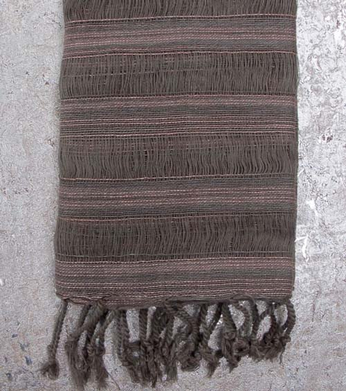 Taupe Rose Scarf