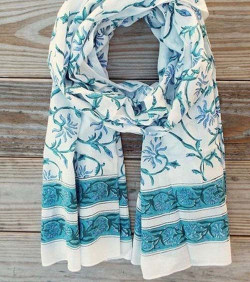 Vineyard Floral Scarf - Passion Lilie - high5humans