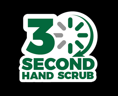 30 Second Hand Scrub - 5 Count - 2oz