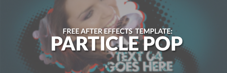 free particle after effects template