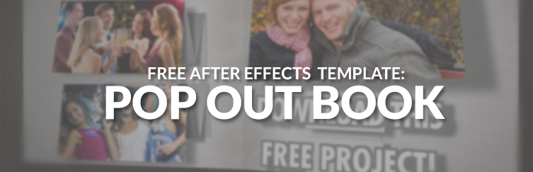 pop out book download after effects
