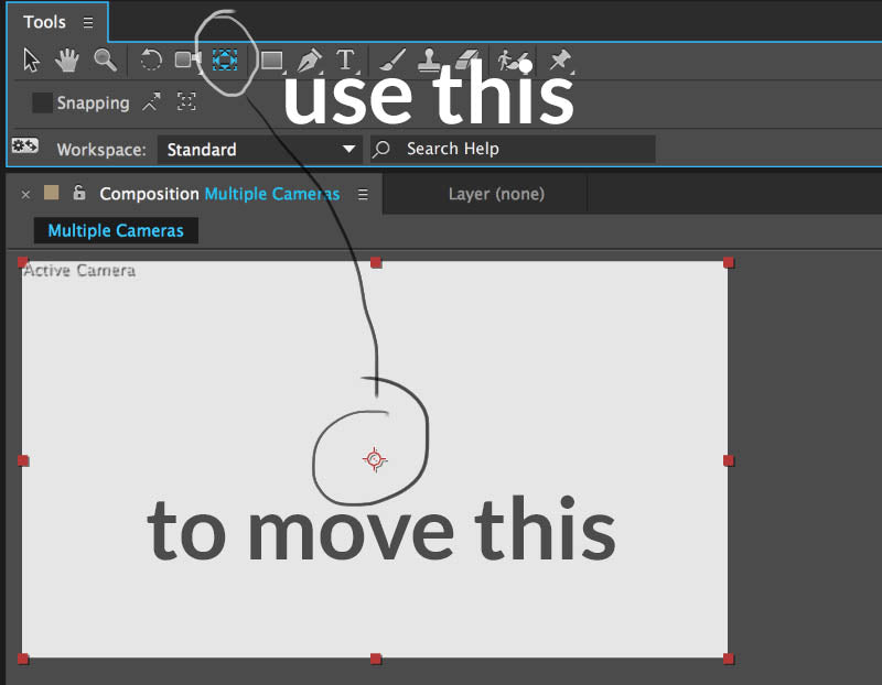 adobe after effects move anchor point tool