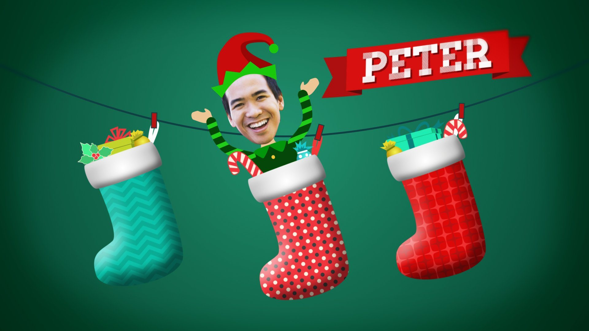 After Effects Template - Christmas Elves Greetings After Effects Template