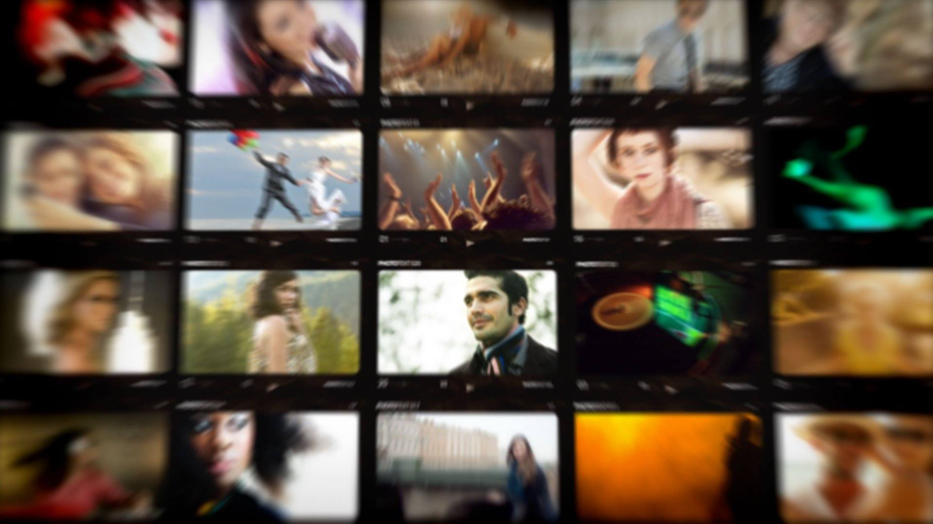 After Effects Template - Deluxe Contact Sheet After Effects Template