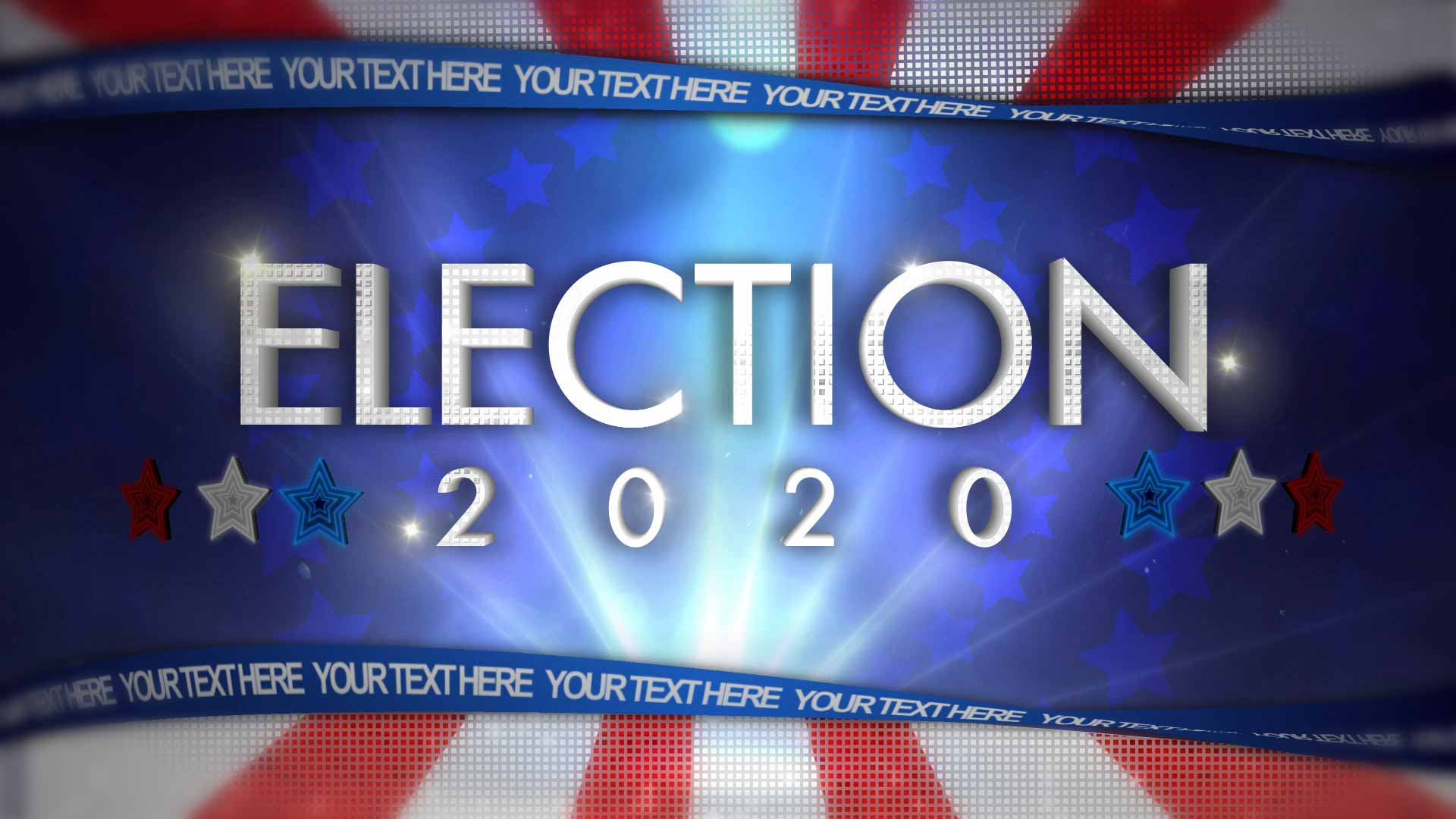 After Effects Template - Election Graphics Kit After Effects Template