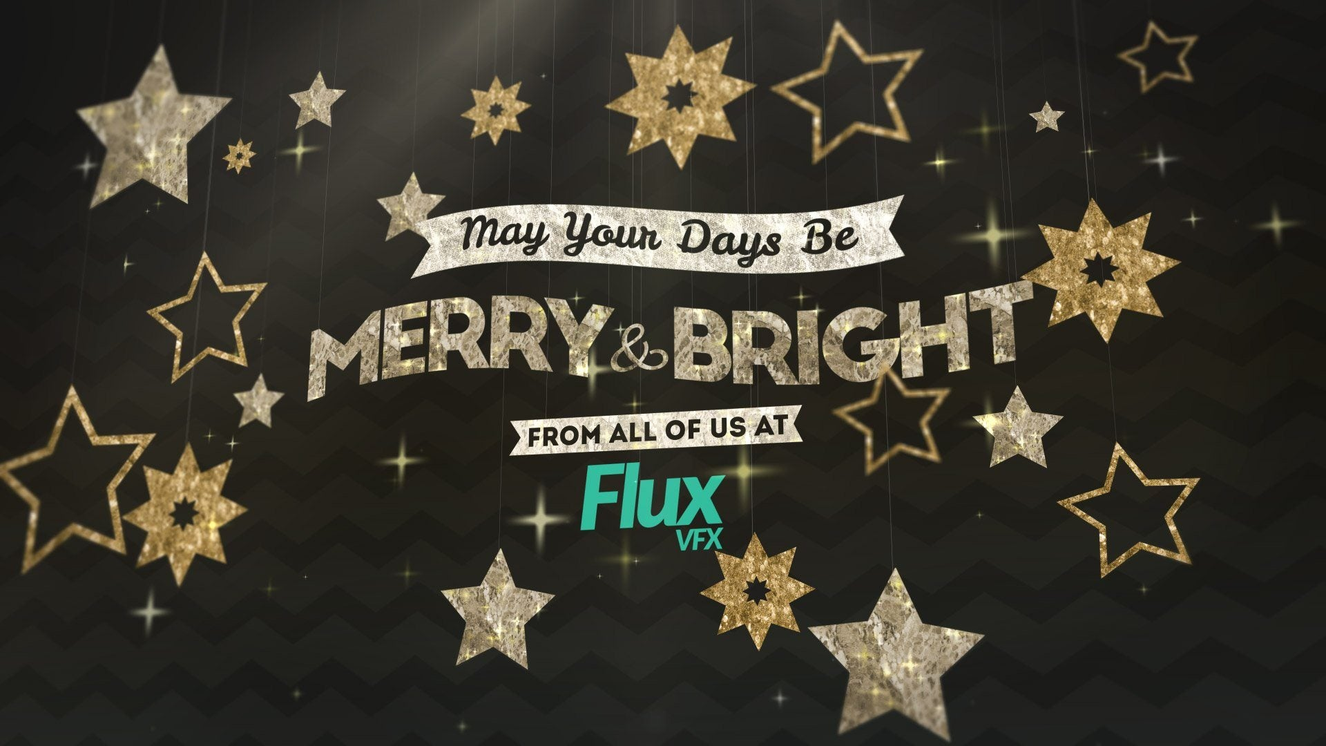 hanging holiday titles after effects template