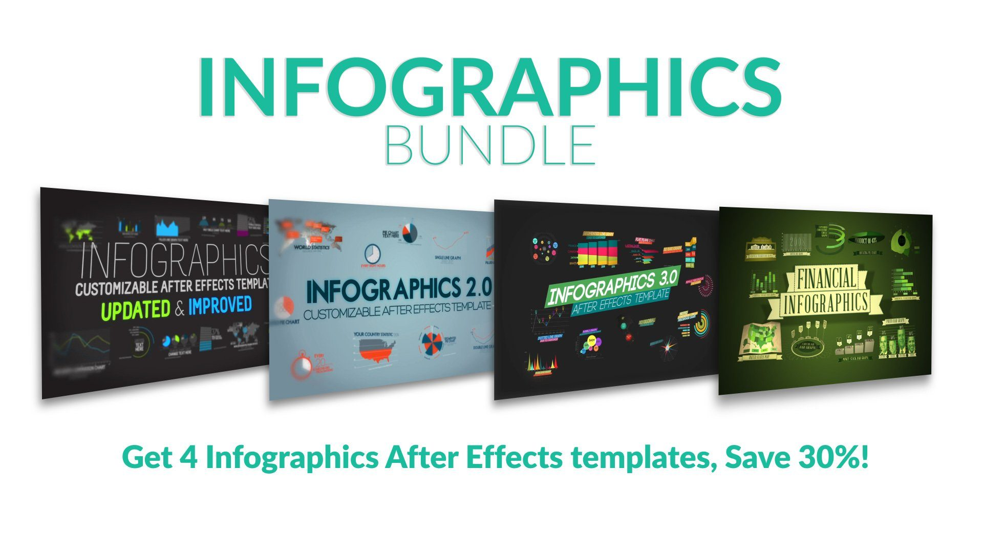Infographics After Effects Template Bundle