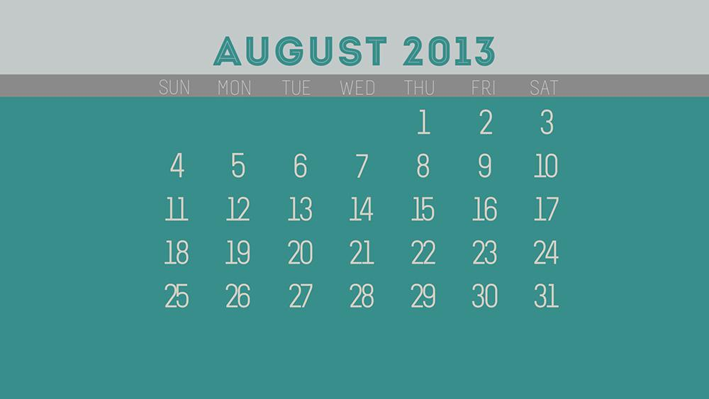 After Effects Template - Modern Calendar After Effects Template