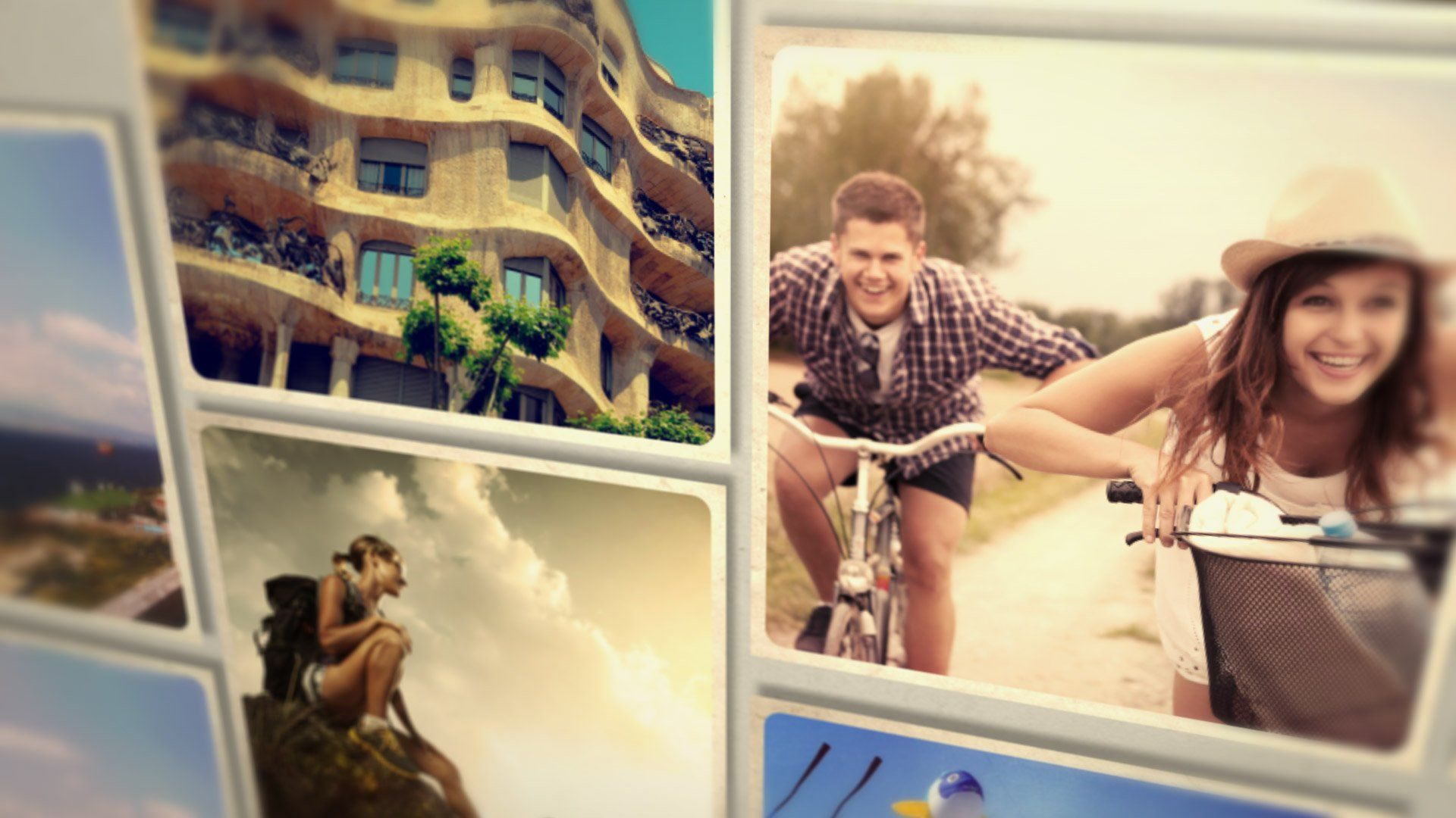 Photo Alphabet After Effects Template