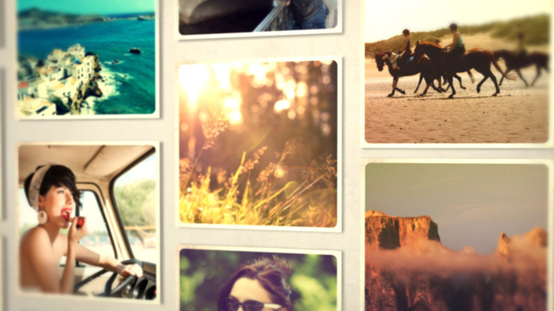 After Effects Template - Photo Alphabet After Effects Template