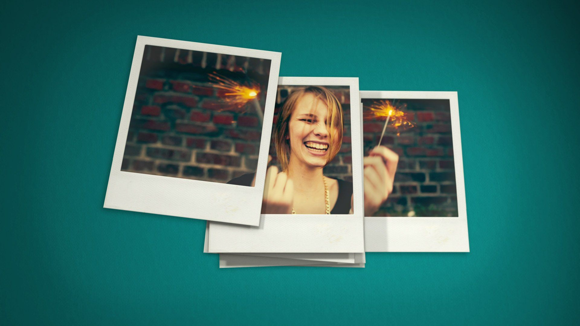 After Effects Template - Polaroid Stop Motion After Effects Template