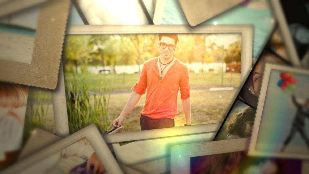 After Effects Template - Stop Motion Photo Display After Effects Template