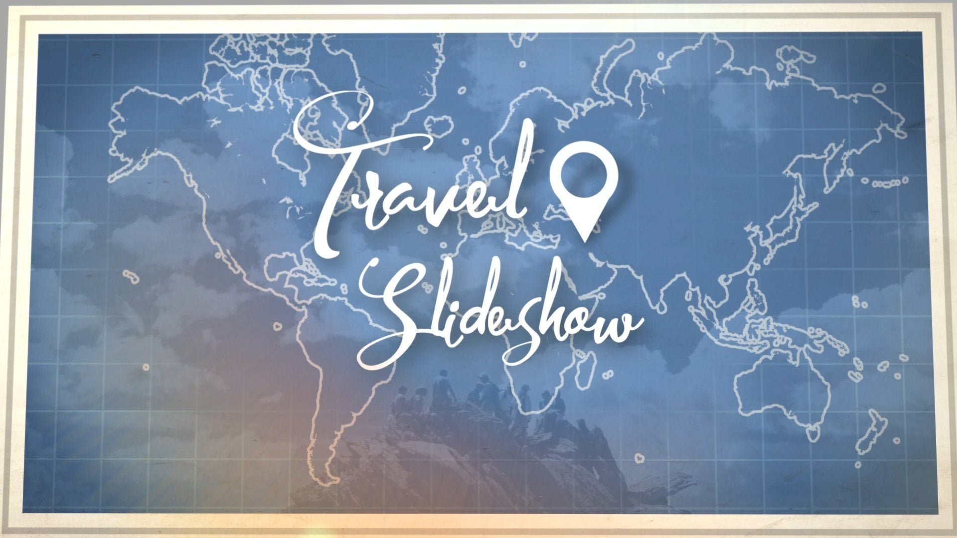 travel slideshow after effects fluxvfx