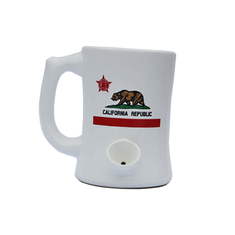 Wake n' Bake PIPEMUG | California Flag
