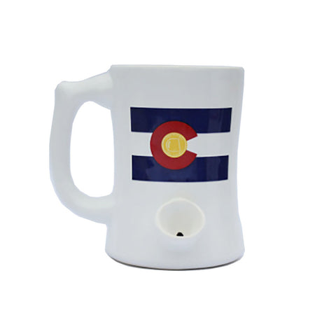 Wake n' Bake PIPEMUG | Colorado Flag