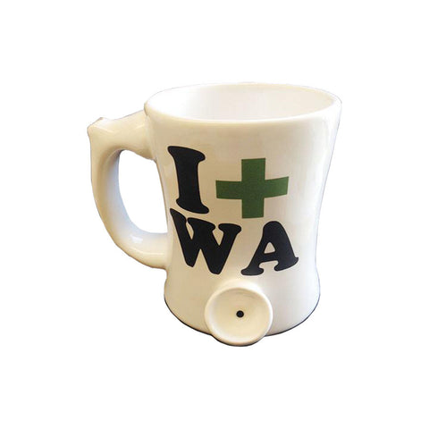 Wake n' Bake PIPEMUG | I-Medicate-in-Washington | I-Med-WA
