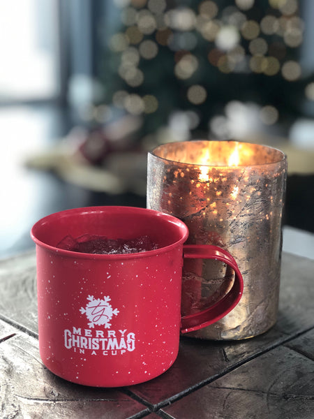"NEW! TY Mug - ""Merry Christmas in a cup"""