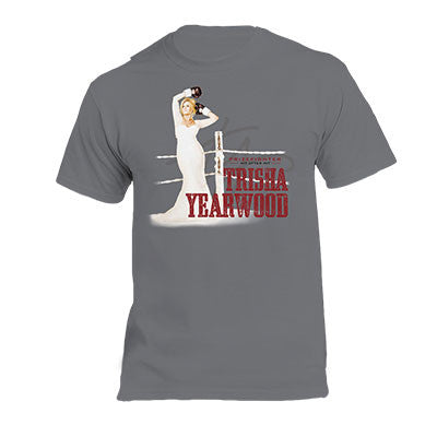 2016 Trisha Yearwood Tour Tee (Grey)
