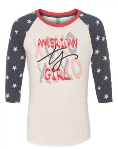 American Girl Star Raglan