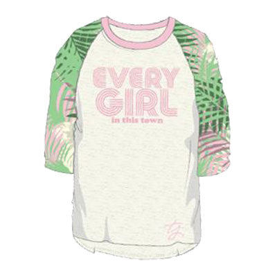 "*New* ""Every Girl"" Floral Raglan"