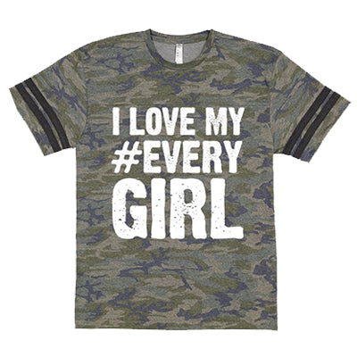 *New* I Love My #Every Girl Camo Tee + Digital Album