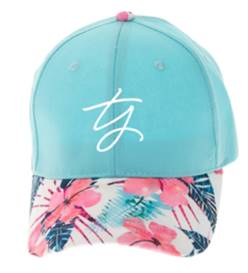 "*New* ""Every Girl"" Floral Hat"