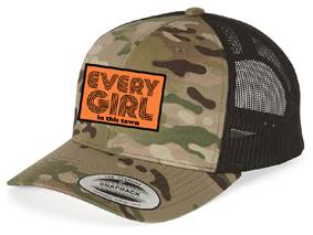 "*New* Camo ""Every Girl"" Trucker Hat + Digital Album"