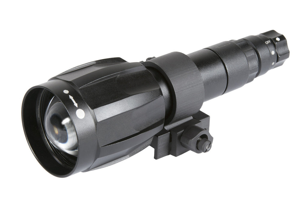 Armasight XLR-IR850 Detachable X-Long Range Infrared Illuminator w/Dovetail to Weaver Transfer Piece #21, Rechargeable Battery, and Charger