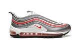 "NIKE AIR MAX 97 ""WHITE/SILVER/RED"""