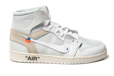 "NIKE X OFF WHITE AIR JORDAN 1 ""WHITE"""
