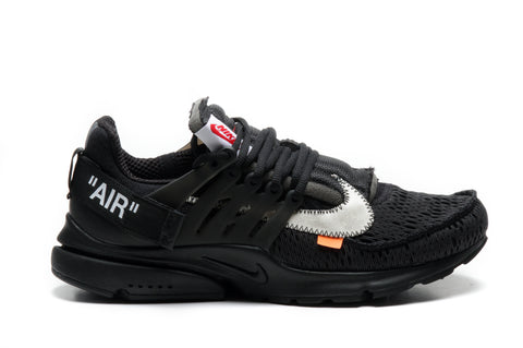 "NIKE X OFF WHITE AIR PRESTO ""BLACK"""