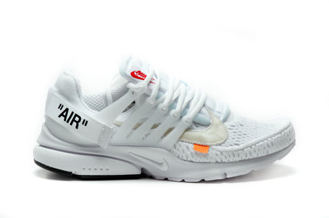 "NIKE X OFF WHITE AIR PRESTO ""WHITE"""