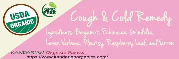 Organic Cough and Cold Tea - 1.5oz